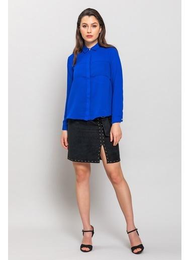 Ashleys Gömlek Mavi
